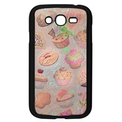 French Pastry Vintage Scripts Cookies Cupcakes Vintage Paris Fashion Samsung I9082(galaxy Grand Duos)(black)