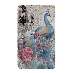 French Vintage Chandelier Blue Peacock Floral Paris Decor Memory Card Reader (rectangular) by chicelegantboutique