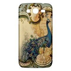 Victorian Swirls Peacock Floral Paris Decor Samsung Galaxy Mega 5 8 I9152 Hardshell Case  by chicelegantboutique