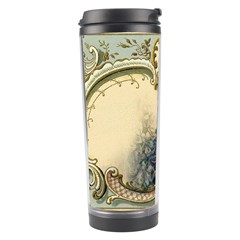 Victorian Swirls Peacock Floral Paris Decor Travel Tumbler by chicelegantboutique