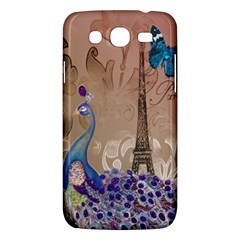 Modern Butterfly  Floral Paris Eiffel Tower Decor Samsung Galaxy Mega 5 8 I9152 Hardshell Case  by chicelegantboutique