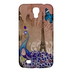 Modern Butterfly  Floral Paris Eiffel Tower Decor Samsung Galaxy Mega 6 3  I9200 by chicelegantboutique