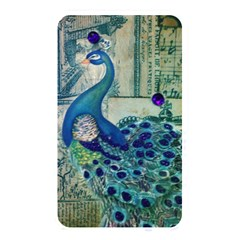 French Scripts Vintage Peacock Floral Paris Decor Memory Card Reader (rectangular) by chicelegantboutique