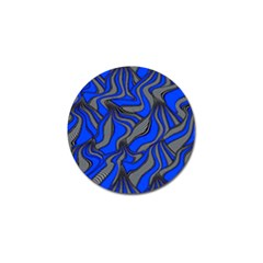 Foolish Movements Blue Golf Ball Marker 10 Pack by ImpressiveMoments