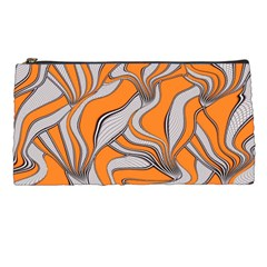 Foolish Movements Swirl Orange Pencil Case by ImpressiveMoments