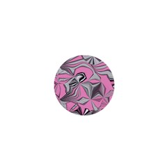 Foolish Movements Pink Effect Jpg 1  Mini Button Magnet