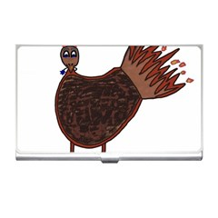 Turkey Business Card Holder by Thanksgivukkah