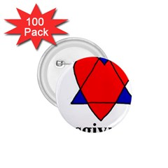 Heartstar 1 75  Button (100 Pack) by Thanksgivukkah