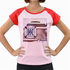 Kodak (7)d Women s Cap Sleeve T Shirt (colored)