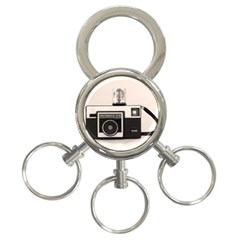 Kodak (3)s 3 Ring Key Chain by KellyHazel