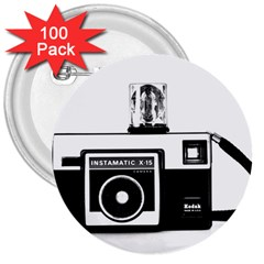 Kodak (3)cb 3  Button (100 Pack) by KellyHazel