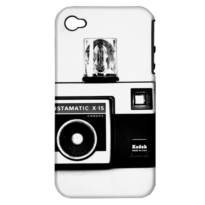 Kodak (3)cb Apple iPhone 4/4S Hardshell Case (PC+Silicone)