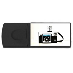 Kodak (3)c 4gb Usb Flash Drive (rectangle) by KellyHazel