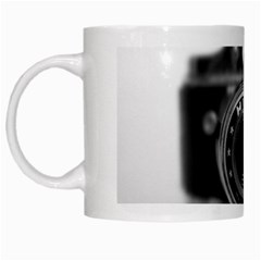 Hit Camera (2) White Coffee Mug by KellyHazel