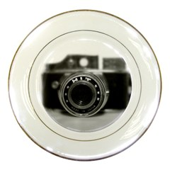 Hit Camera (2) Porcelain Display Plate