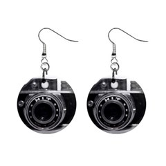 Hit Camera (3) Mini Button Earrings