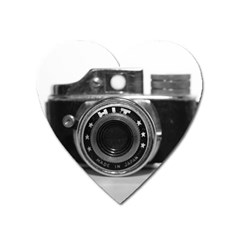 Hit Camera (3) Magnet (heart) by KellyHazel