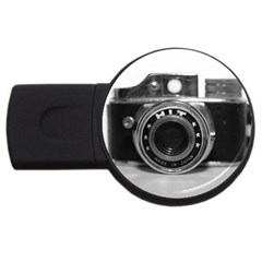 Hit Camera (3) 4gb Usb Flash Drive (round)