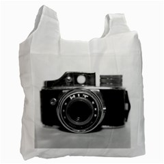 Hit Camera (3) Recycle Bag (two Sides) by KellyHazel