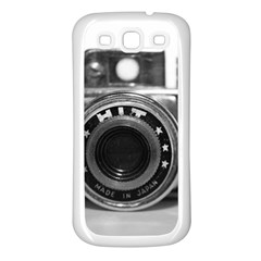 Hit Camera (3) Samsung Galaxy S3 Back Case (white) by KellyHazel