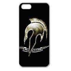 Designed Apple Seamless Iphone 5 Case (clear) by roma1store