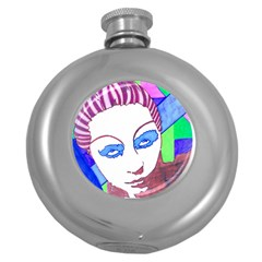 Strong Hip Flask (round) by JacklyneMaeDesignsMarketingproducts