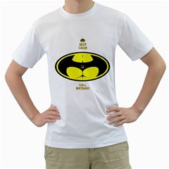 I Love My Batman Mens  T Shirt (white) by Contest1640420