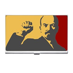 Power With Lenin Business Card Holder