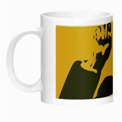 Power With Lenin Glow In The Dark Mug by youshidesign