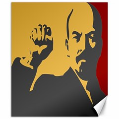 Power With Lenin Canvas 8  X 10  (unframed) by youshidesign