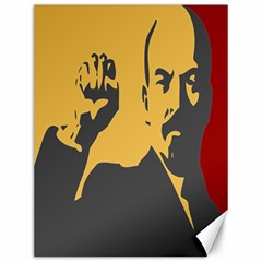 Power With Lenin Canvas 12  X 16  (unframed) by youshidesign