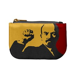 Power With Lenin Coin Change Purse by youshidesign