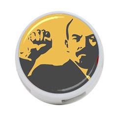 Power With Lenin 4 Port Usb Hub (two Sides) by youshidesign