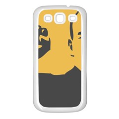 Power With Lenin Samsung Galaxy S3 Back Case (white) by youshidesign