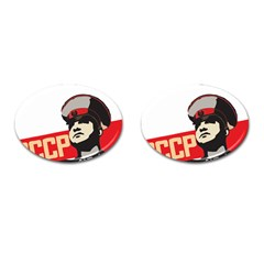 Soviet Red Army Cufflinks (oval) by youshidesign