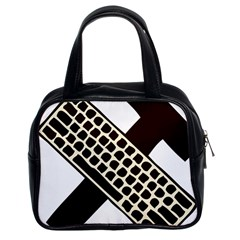 Hammer And Keyboard  Classic Handbag (two Sides)