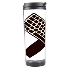 Hammer And Keyboard  Travel Tumbler by youshidesign