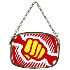 Power To The People Chain Purse (one Side) by youshidesign