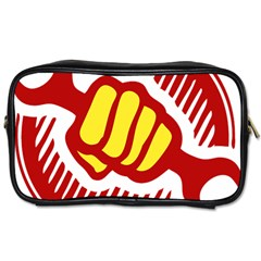 Power To The People Travel Toiletry Bag (one Side) by youshidesign