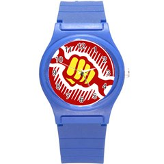 Power To The People Plastic Sport Watch (small)