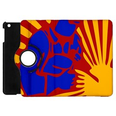 Soviet Robot Worker  Apple Ipad Mini Flip 360 Case