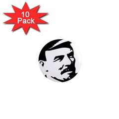 Lenin Portret 1  Mini Button Magnet (10 Pack) by youshidesign