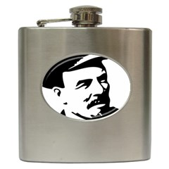 Lenin Portret Hip Flask by youshidesign