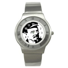 Lenin Portret Stainless Steel Watch (unisex) by youshidesign