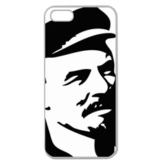 Lenin Portret Apple Seamless Iphone 5 Case (clear) by youshidesign