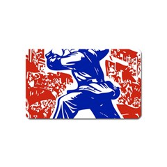 Communist Party Of China Magnet (name Card) by youshidesign