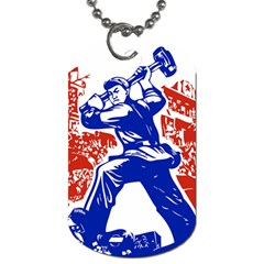 Communist Party Of China Dog Tag (one Sided)