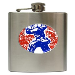 Communist Party Of China Hip Flask