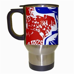 Communist Party Of China Travel Mug (white) by youshidesign