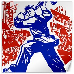 Communist Party Of China Canvas 12  X 12  (unframed) by youshidesign